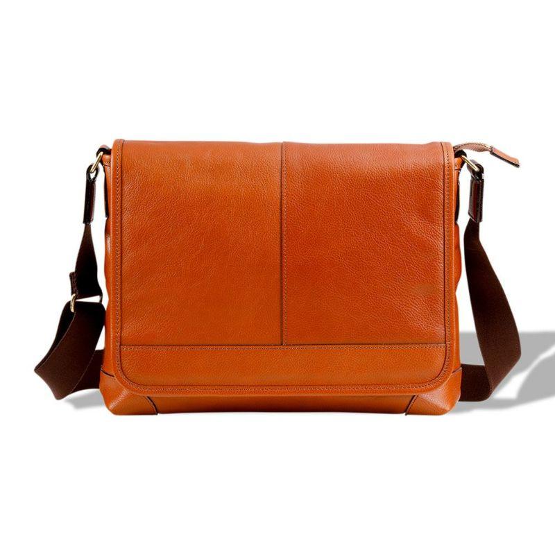 豊岡鞄 皮革横カブセショルダー