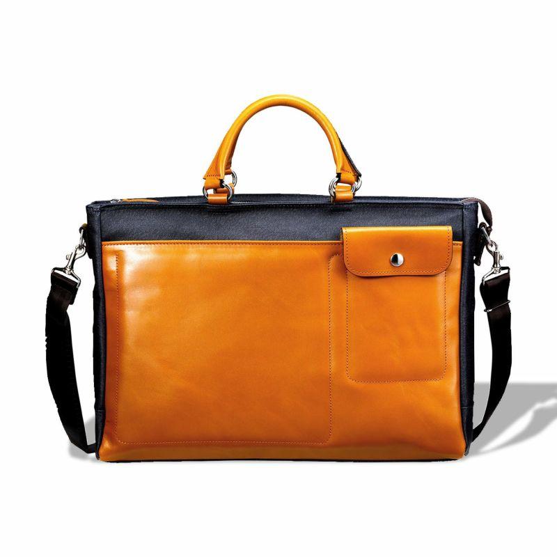 岡山県産デニム ビジネスバッグ